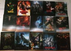 67 different lenticular cards Flip effect for slipcover blu ray disks