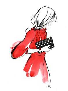 Comme Des Garçons clutch by the talented Angie Rehe