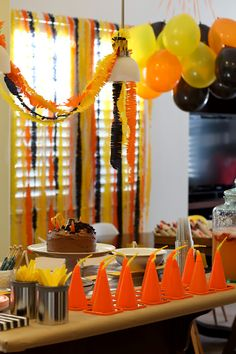 lots of good ideas here for things to do, cute cute cute   Cameron and Shannon: Weston's 3rd {Construction} Birthday Party