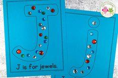 letter j alphabet activity ideas Preschool Letter Sound Activities, Letter Activities, Montessori Activities, Kindergarten Activities, Preschool Activities, Preschool Classroom, Alphabet Crafts, Letter A Crafts, English Language