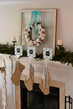 awesome cotton wreath