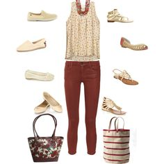"""Sandals or Flats?"" by kswirsding on Polyvore"