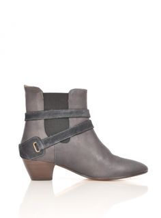 Young British Designers: Charlock Chelsea Ankle Boots - Navy by Rae Jones - Last year's navy chelsea boots were a sellout from Miss Rae Jones. We see no reason these should be any different. Perfect everyday, everywhere boots.