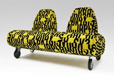 Loud Wheely Loungers - The W Series Takes Free Forms and Offers Unrestrained Movement (GALLERY)