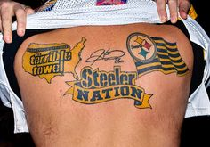 The Steeler nation Steelers Gear, Pittsburgh Steelers Logo, Here We Go Steelers, Steelers Football, Pittsburgh Tattoo, Steelers Tattoos, Nfc East, Steeler Nation, Creative Tattoos