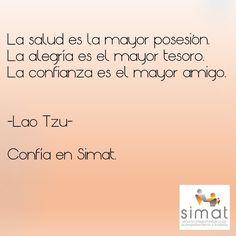 #simat #salud #alegría #confianza #acompañamiento #familia #frases #amigos #compañía