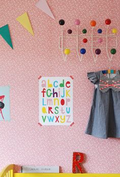 Pretty and bright kids space