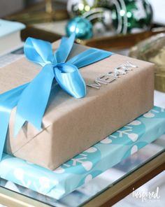 12 Creative Wrapping Ideas | inspiredbycharm.com