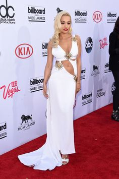 Rita Ora in Fausto Puglisi. See all the looks from the Billboard Music Awards.