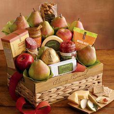 Grand Signature Gift Basket | Mixed Snacks | Fruit Baskets
