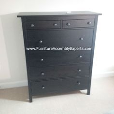 ikea hemnes chest of drawers assembled in indian head md by Furniture Assembly Experts LLC