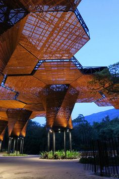 Botanical Gardens, Medellin, Colombia, Plan B Architects, 2006 - Explore the World with Travel Nerd Nici, one Country at a Time. http://TravelNerdNici.com