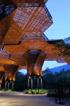 Botanical Gardens, Medellin, Colombia Orquideorama / Plan B Arquitectos + JPRCR Architects By David Basulto