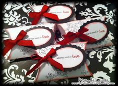 Easy Peasy Pillow Boxes using the #CTMH Art Philosophy #Cricut Cartridge {by Mandy Leahy}