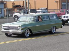 I am actively searching for this car now. 1962-65 Chevy Nova Wagon automatic with a V8. close to stock as possible. if anyone has a handle on this car, please let me know. 1963-1962-1964-1965 Chevrolet Nova Wagon