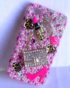 Pink Candy Cells Phone Case for iPhone 4/4S by CandyCells on Etsy #handmade