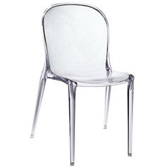 Modway Scape 848387001308 33H Acrylic Dining Side Chair, Clear