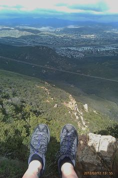 Cowles Mountain hike,  san Diego