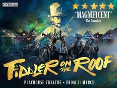The classic Broadway musical Fiddler on the Roof transfers to the West End for a strictly limited run