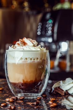 Coffee with Chantilly Cream