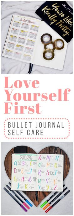 It's easy to get wrapped up in the chaos of life and forget to take a step back to take care of yourself. That's why I wanted to take some time to create bullet journal self-care spreads to help me restore my natural resources and be my best self!