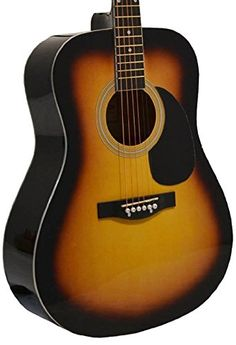 http://yourmusicalinstruments.info/41-inch-full-size-sunburst-handcrafted-steel-string-dreadnought-acoustic-guitar-directlycheaptm-translucent-blue-medium-guitar-pick-pro-1-series/ - This Acoustic Guitar is a steal! The body provides rich full sound projection & the natural spruce top delivers a...
