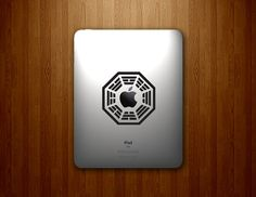 Dharma Initiative iPad DECAL  Lost Inspired  Vinyl by DecalLab, $7.95