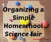 Organizing a simple science fair your co-op or your friends can be simple and rewarding. Our family participates in a small 4 family co-op with mostly Grammar stage children that does history projects, science experiments and art. We just did a simple and fun winter science fair. I know many of you might like to participate in a science fair but there isn't one available. At least that was our situation so we decided to create one that meet the needs of our family. #ihsnet