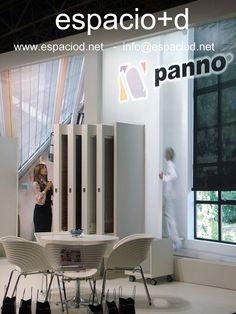 Diseño y construcción de stand – Panno – Cevisama – Feria Valencia. www.espaciod.net info@espaciod.net (+34) 91 404 79 52