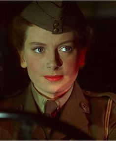 """Deborah Kerr as Angela """"Johnny"""" Cannon in The Life and Death of Colonel Blimp."""