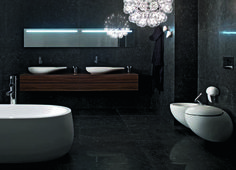 Il Bagno Alessi One single washbasin - Designer Single washhand basins by Laufen ✓ Comprehensive product & design information ✓ Catalogs ➜ Get inspired now Bathroom Flooring, Bathroom Furniture, Laufen Bathroom, Best Bathroom Designs, Bathroom Ideas, Modern Headboard, Alessi, Modern Bathroom, Glamorous Bathroom