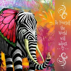 Being yourself in World that makes you think you have to be someone else is hard for many.  But when one becomes aware of their own self and begins to be that in which you desire to be, freely.  The World adjusts to that energy and flows in Endless Love. <3 -Mary Long-