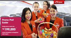 Jetstar Promo Post Easter ! Dapatkan harga spesial setelah Paskah dari #Jetstar di #Airpaz ! Terbang dari #Palembang ke #Singapura cuma 199ribu aja loh ! Kapan lagi? Yuk langsung di booking : http://ow.ly/NNxKZ  #TiketPesawat #TiketMurah #TiketPromo #Indonesia #Travel #JalanJalan #Liburan #holiday #Trip #Promo