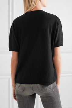 Joseph - Cashmere Top - Black - x large