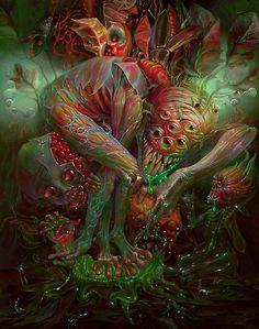 """Exorcist"" Poster by AlexandrKumpan Scary Art, Creepy, Science Fiction, Eldritch Horror, Dark And Twisted, Dark Art Drawings, Arte Horror, Images Wallpaper, Art Graphique"