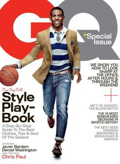 "Chris Paul COVERS The October 2012 ISSUE Of ""GQ"" Magazine, DISHES On How ""Being Short"" Made Him A LEADER! 
