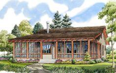 Best House Plans, Small House Plans, Log Siding, Vinyl Siding, Cottage House Plans, Cottage Ideas, Modern Farmhouse Plans, Cabin Plans, Build Your Dream Home