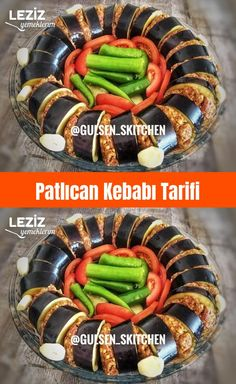 Eggplant Kebab Recipe – My Delicious Food - Rezepte Turkish Recipes, Ethnic Recipes, Kebab Recipes, Eggplant Recipes, Arabic Food, Iftar, Homemade Beauty Products, Christmas Desserts, Green Beans