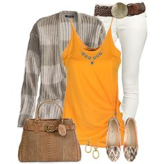White Jeans 2, created by daiscat on Polyvore