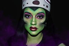 💜Mojo Jojo💜 Desde que hice la serie de las chichas superpoderosas quería a hacer este maquillaje así que acá está ❤️ Estoy un toque… Halloween Makeup, Make Up, Colours, Instagram, Makeup, Haloween Makeup, Bronzer Makeup, Halloween Make Up