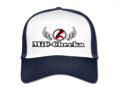 €17,99 order NOW!Mic Checka White/Blue Truckers Cap. Match it with a Mic Checka hoody or t-shirt.