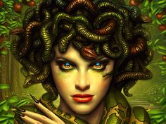 Medusa <3 You are the frightening, serpent-haired, Medusa! As one of the most…