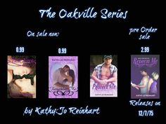 Feature - The Oakville Series by Kathy-Jo Reinhart