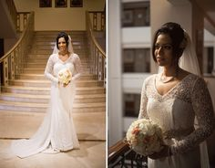 Our beautiful bride from inside and out.