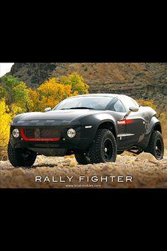 Local Motors Rally Fighter  6.2 Liter, V8  430 Horsepower  424 lbft