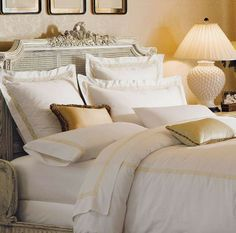 This heirloom-quality bedding provides exquisite quality that will continually impress night after night after night.