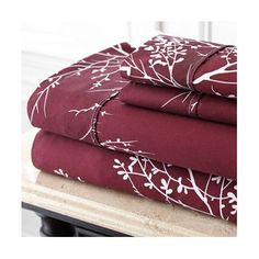 Spirit Foliage Polyester Sheet Set