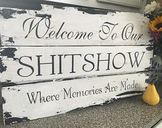 Welcome to our SHITSHOW ! Great gift / one of my most popular pieces!