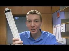 ▶ The Slide Rule - YouTube  Applications of Logarithms. :)