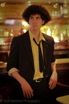 Spike Spiegel from Cowboy BeBop - This guy totally has the hair for this!